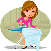 Southport-Ironing-Service-pink-tops